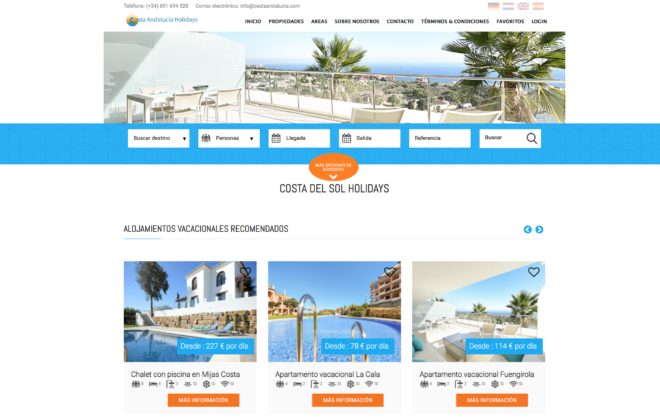 Holiday-rental-website